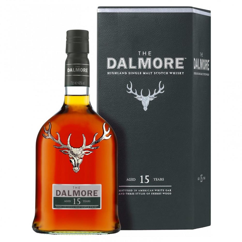 Виски Далмор 15 лет (п/к)  0.700