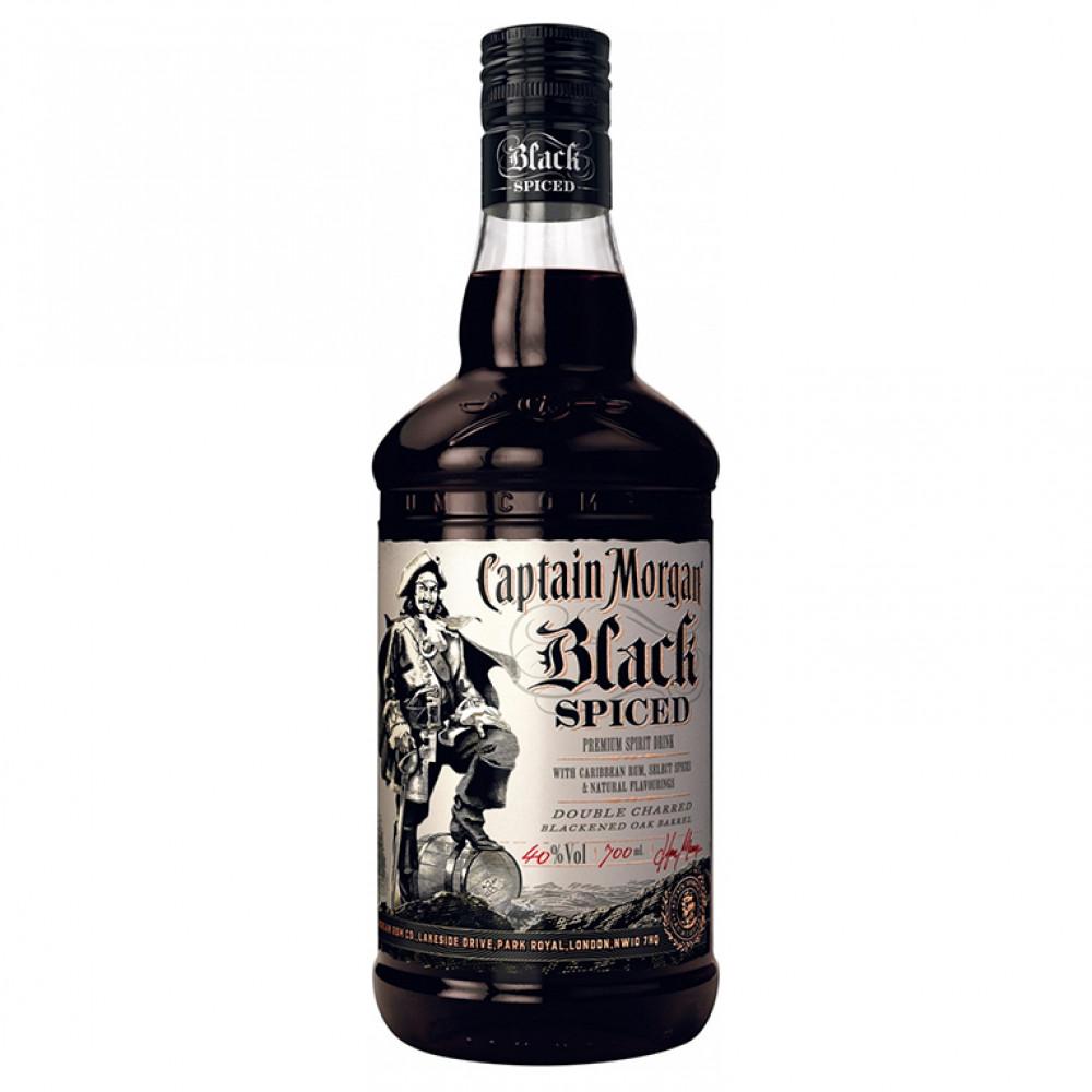 Капитан Морган Чёрный Пряный 0.700
