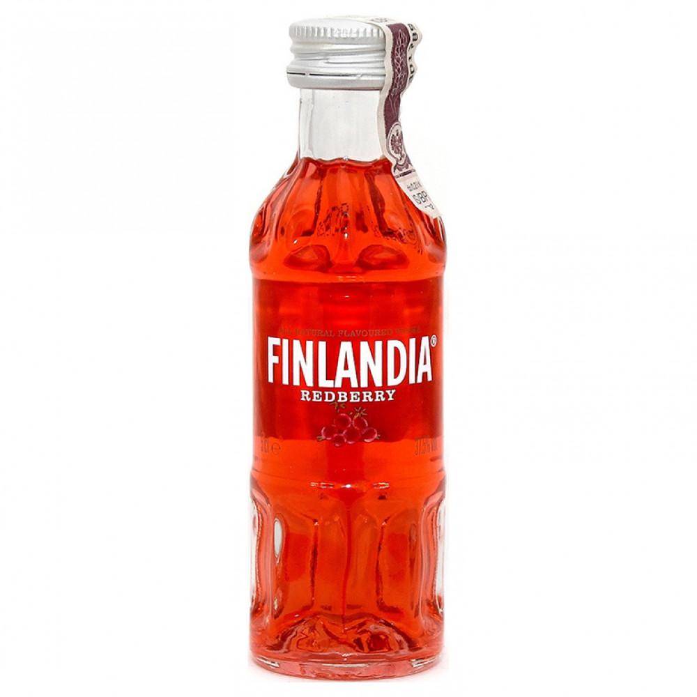 Настойка Финляндия Рэдберри Красная клюква 0.050
