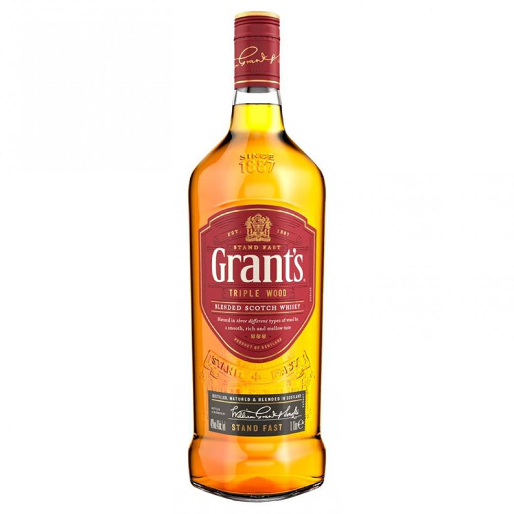 Виски Грантс Трипл Вуд 1.000