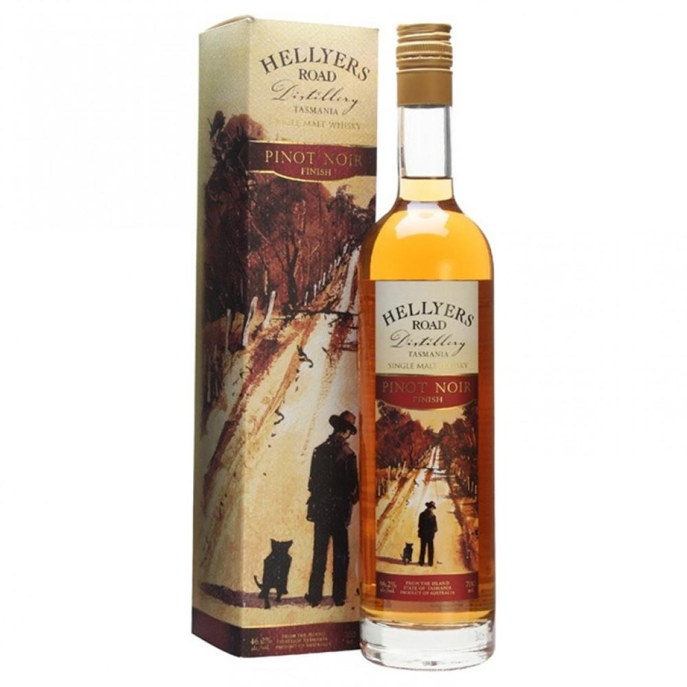 Виски Хеллиерс Роуд Пино Нуар Финиш (п/к)  0.700