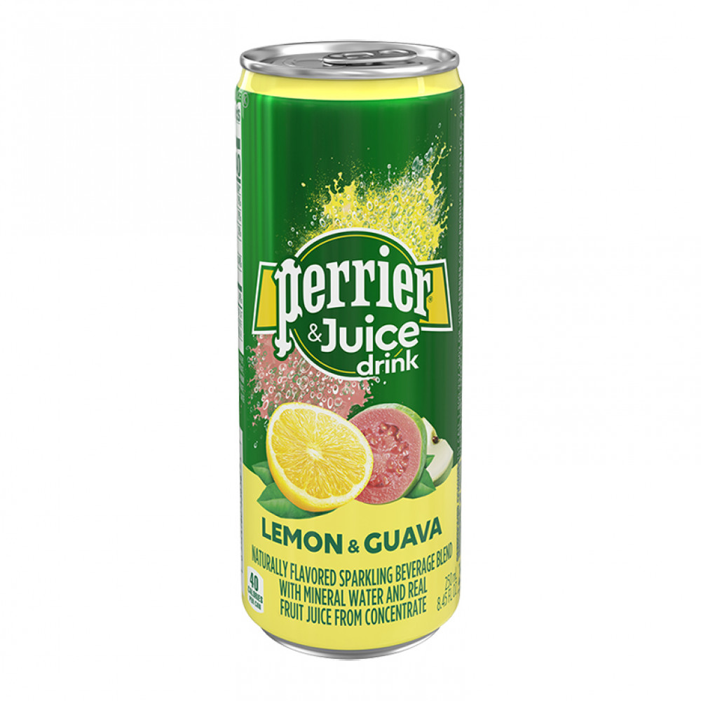 Напиток газ Перье лимон-гуава ал/б 0,25 0.250
