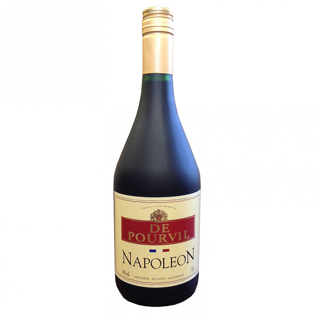 Крепкий спиртной напиток Де Пурвиль Наполеон (мат/бут)  0.700