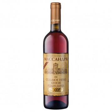 Ликерное вино Седьмое небо князя Голицына бел 2012 0.750