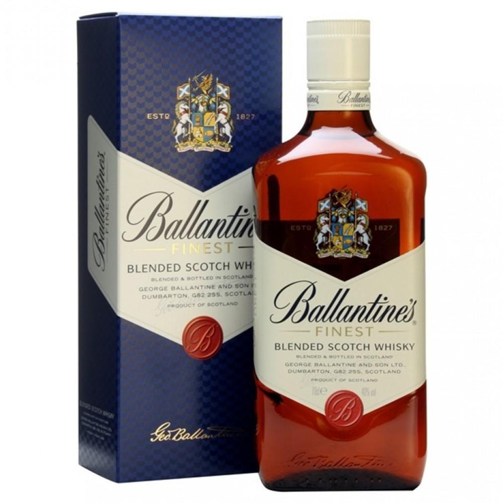 Виски Баллантайнс Файнест (п/к)  0.700