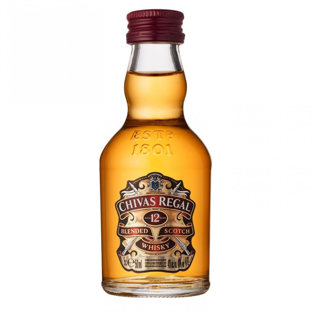 Виски Чивас Ригал 12 лет 0.050