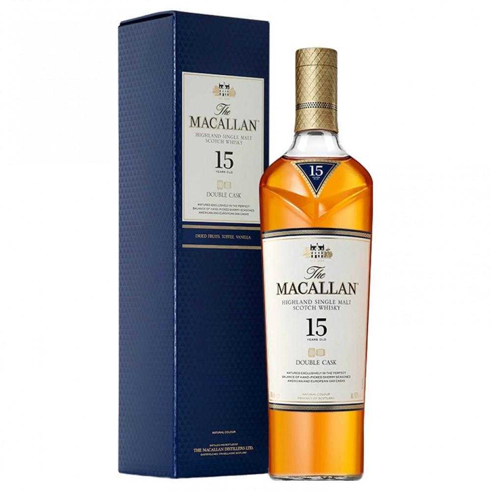 Виски Макаллан Дабл Каск 15 лет (п/к)  0.700