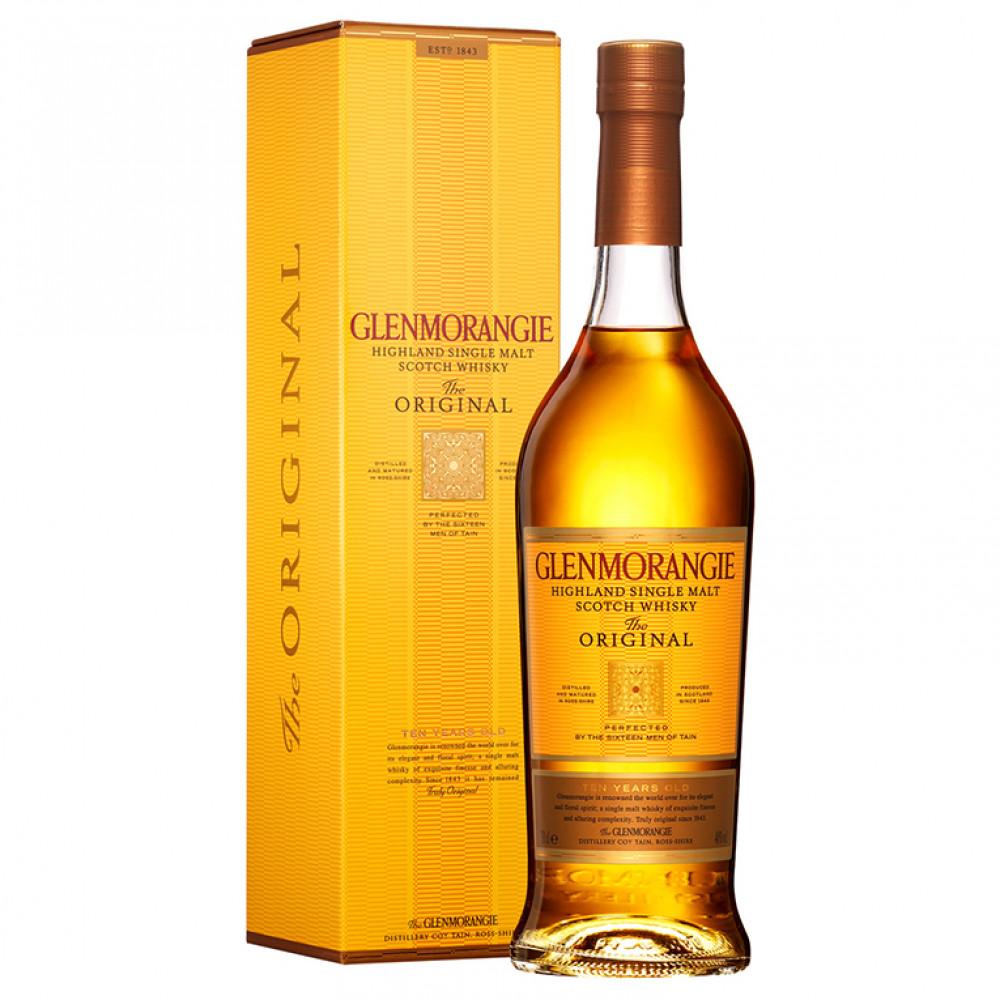Виски Гленморанджи Орижинал 10 лет (п/к)  0.700