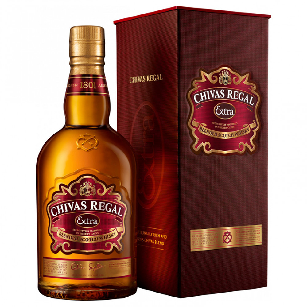Виски Чивас Ригал Экстра (п/к)  0.700