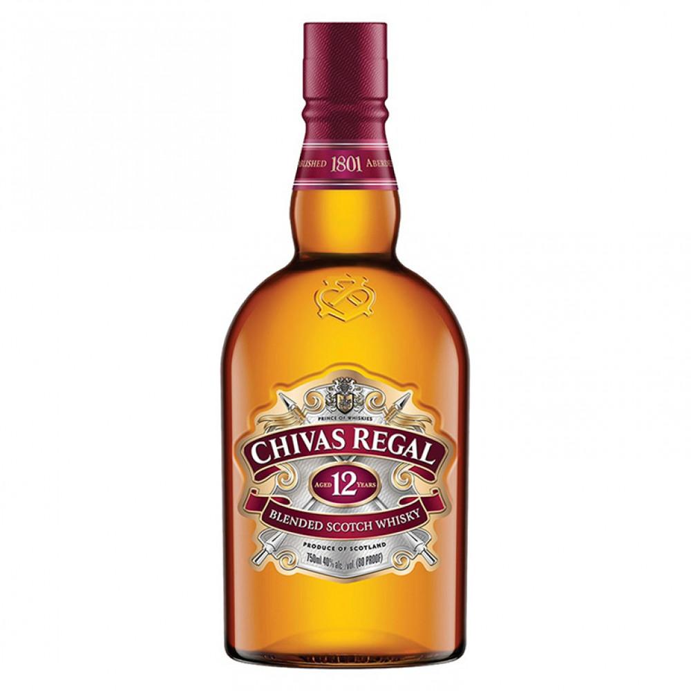 Виски Чивас Ригал 12 лет 0.700