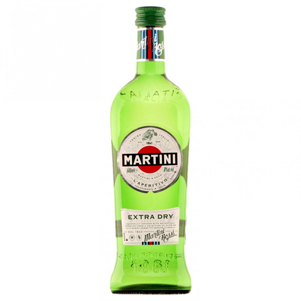 Вермут Мартини Экстра Драй 0.500