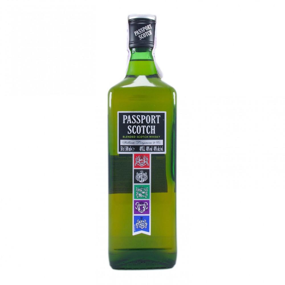 Виски Пасспорт Скотч 0.500