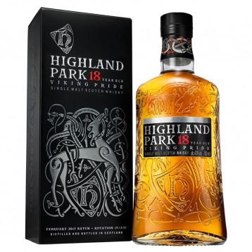 Виски Хайлэнд Парк 18 лет Викинг Прайд (п/к)  0.700