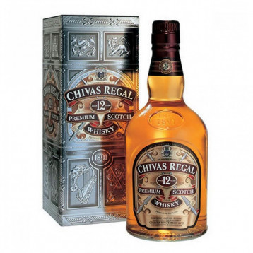 Виски Чивас Ригал 12 лет (п/к)  0.500