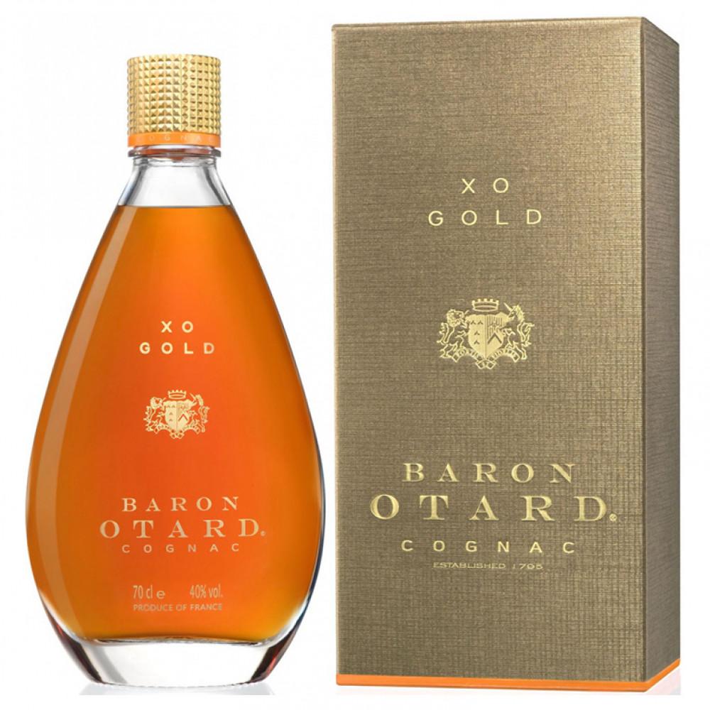 Коньяк Барон Отард XO золото (п/к)  0.700