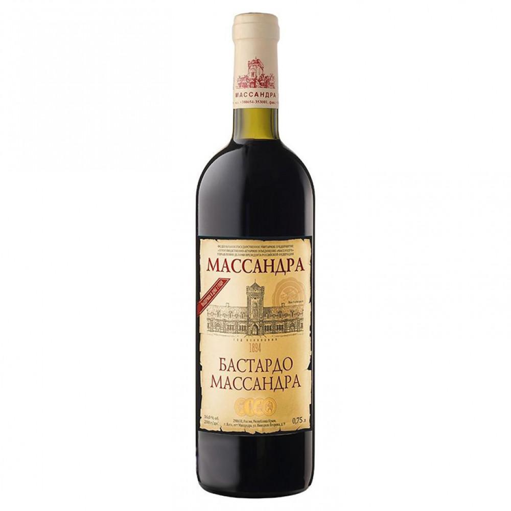 Вино Бастардо Массандра 2015 0.750
