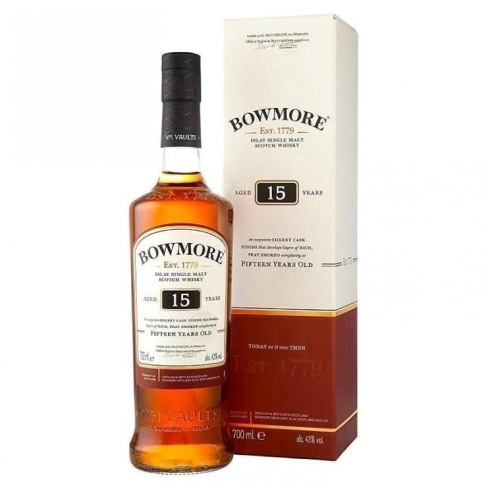 Виски Бомо 15 лет (п/к)  0.700