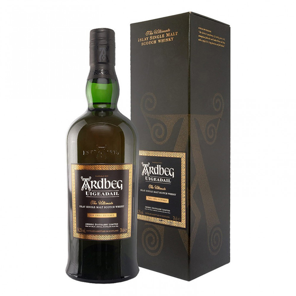 Виски Ардбег Угадал (п/к)  0.700