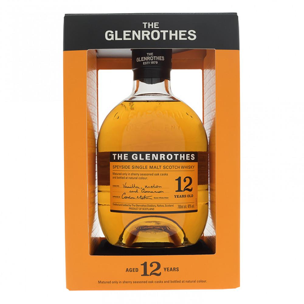 Виски Гленротс 12 лет (п/к)  0.700