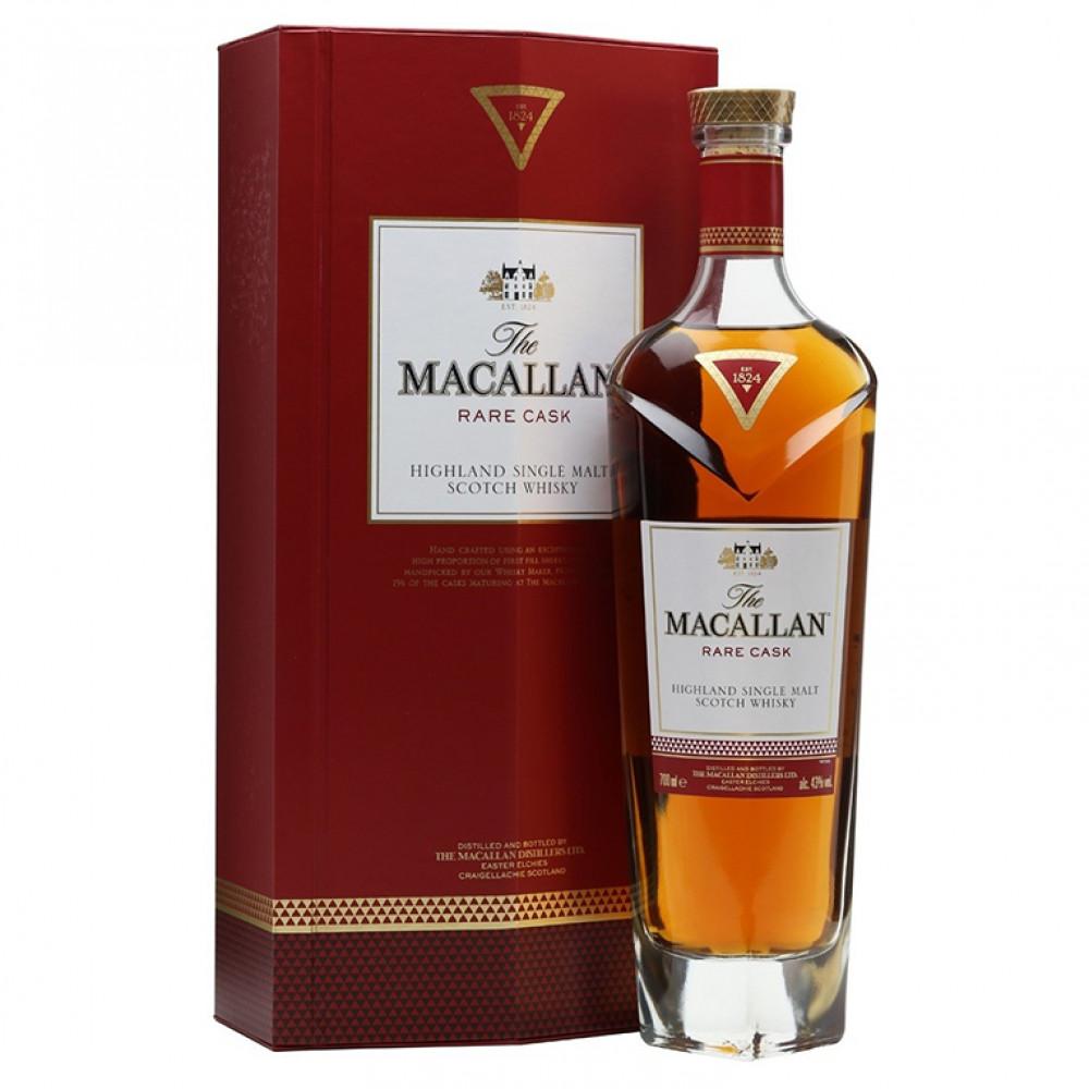 Виски Макаллан Рэр Каск (п/к)  0.700
