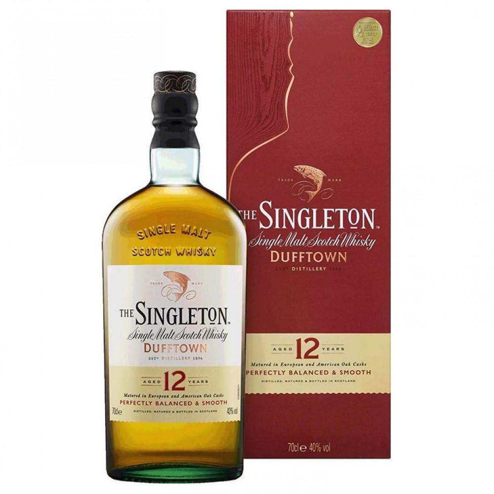 Виски Синглтон 12 лет (п/к)  0.700