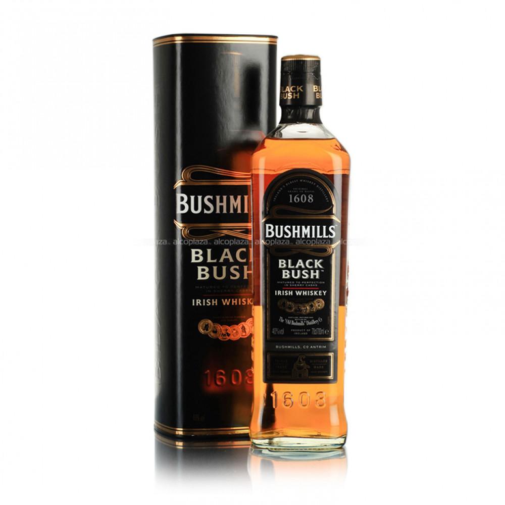 Виски Бушмилз Блэк Буш (туба)  0.700