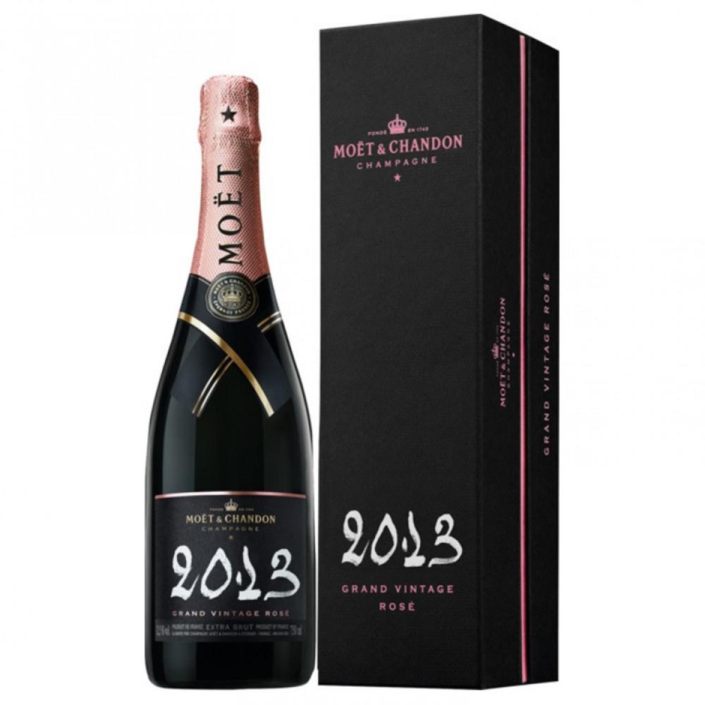 Моэт и Шандон Гран Винтаж Розе экстра брют роз (п/к) 2013 0.750