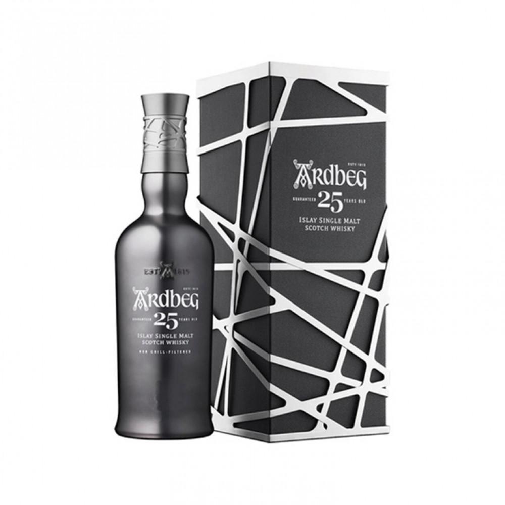 Виски Ардбег 25 лет (п/к)  0.700