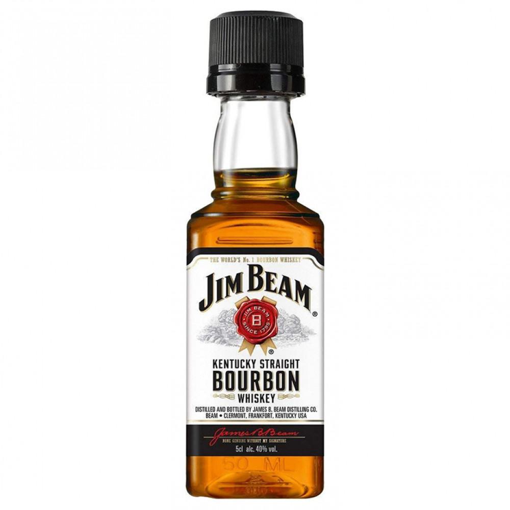 Виски Джим Бим 4 года 0.050