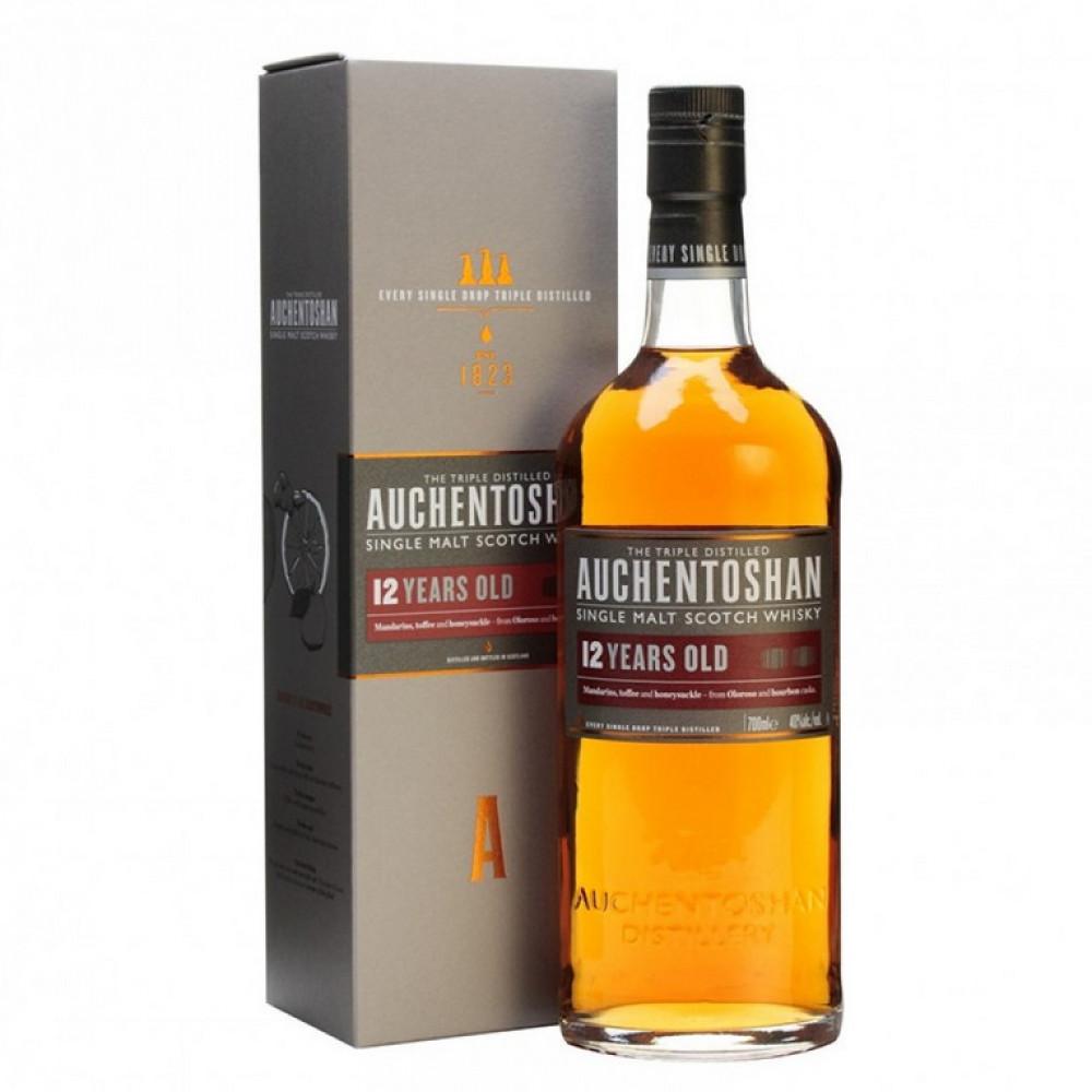 Виски Акентошан 12 лет (п/к)  0.700