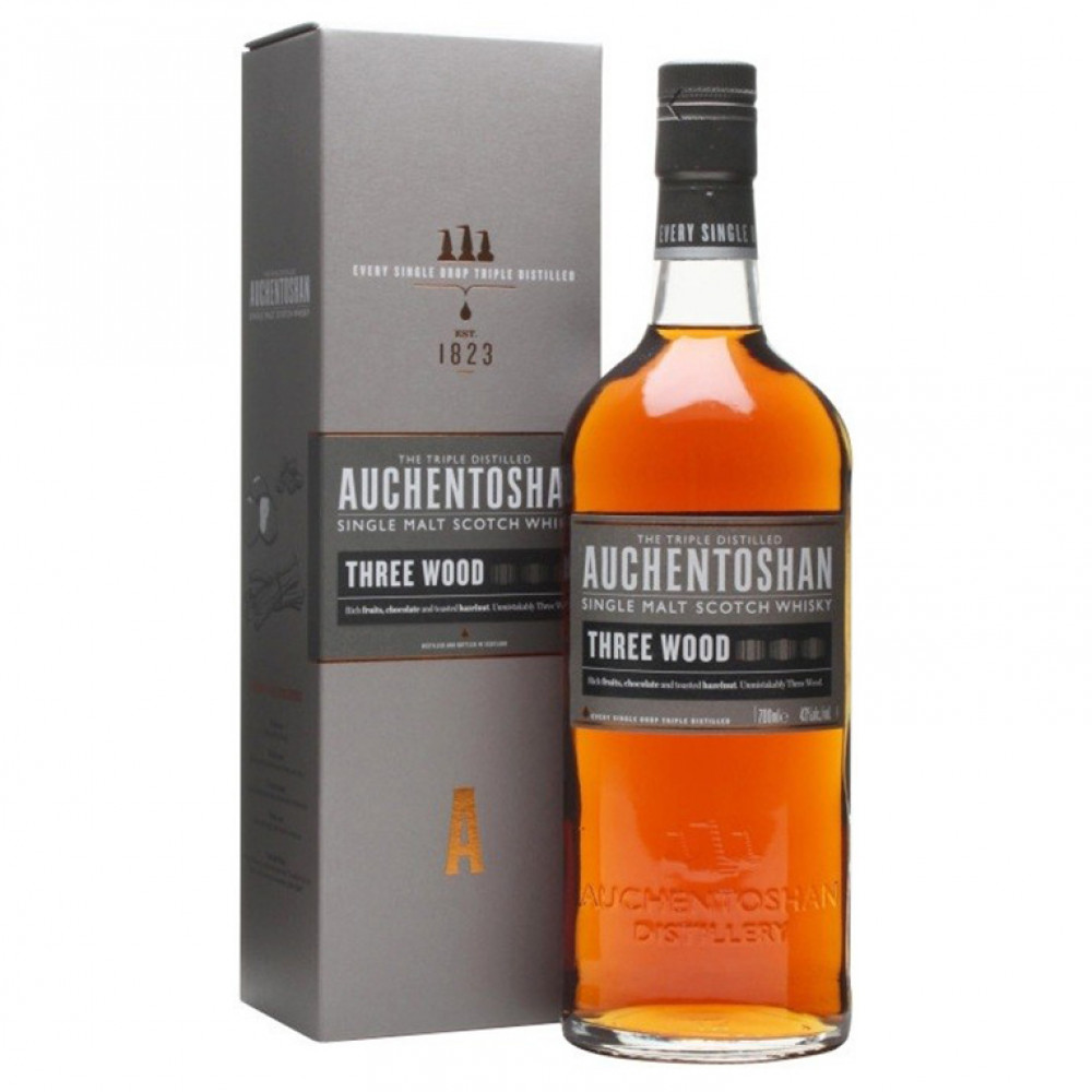 Виски Акентошан Три Вуд (п/к)  0.700