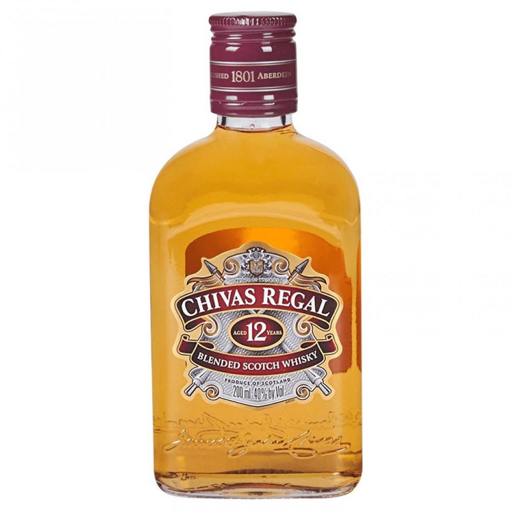 Виски Чивас Ригал 12 лет 0.200