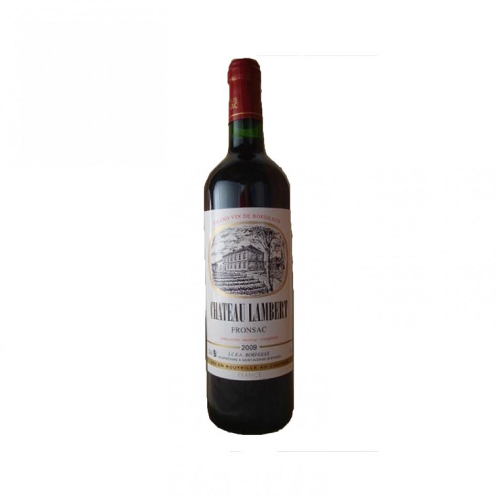Вино Шато Ламбер кр сух 2010 0.750