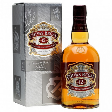 Виски Чивас Ригал 12 лет (п/к)  0.700