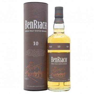 Виски Бенриах 10 лет (туба)  0.700