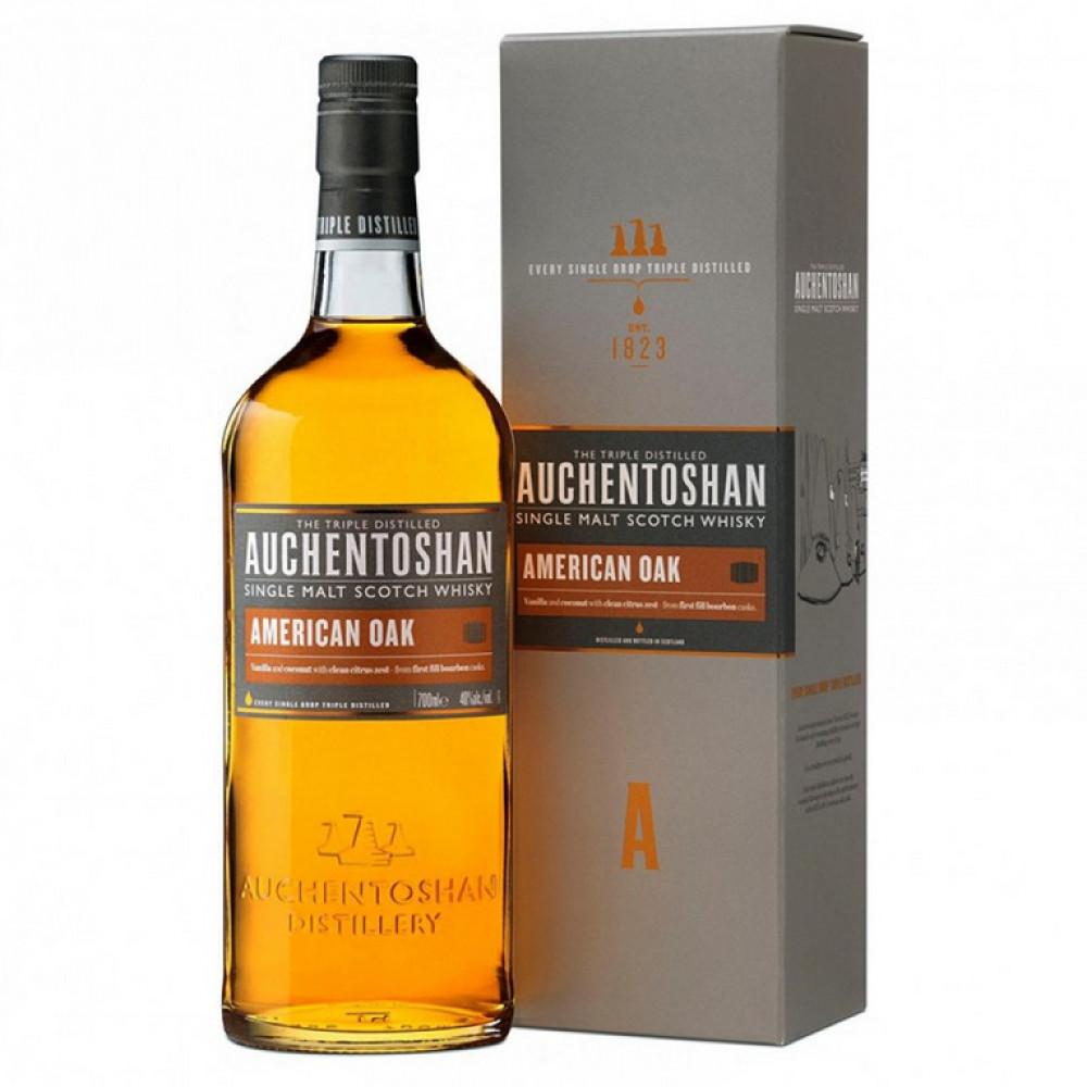 Виски Акентошан Американ ОАК (п/к)  0.700