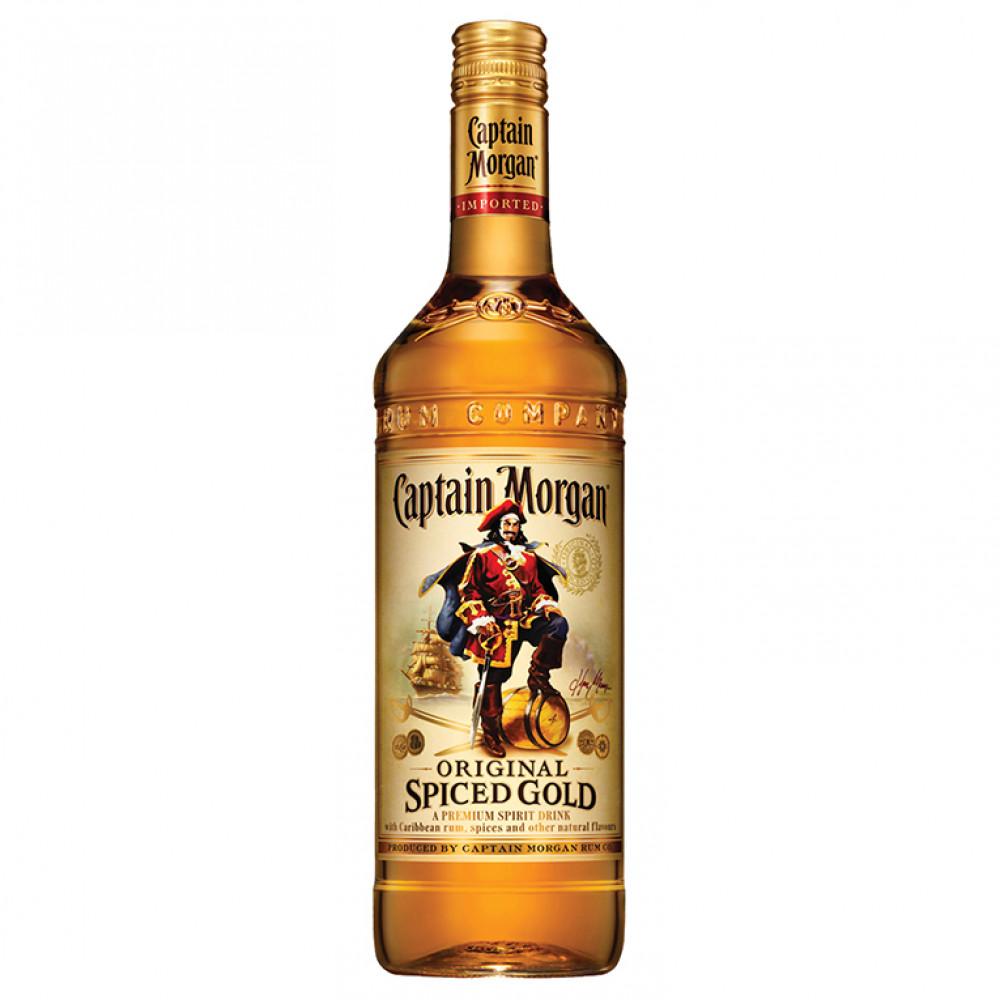 Капитан Морган Пряный Золотой 1.000
