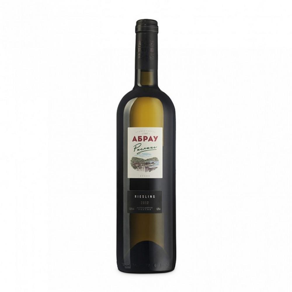 Вино Абрау Рислинг бел сух 0.750