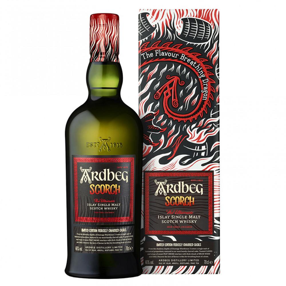 Виски Ардбег Скорч (п/к)  0.700