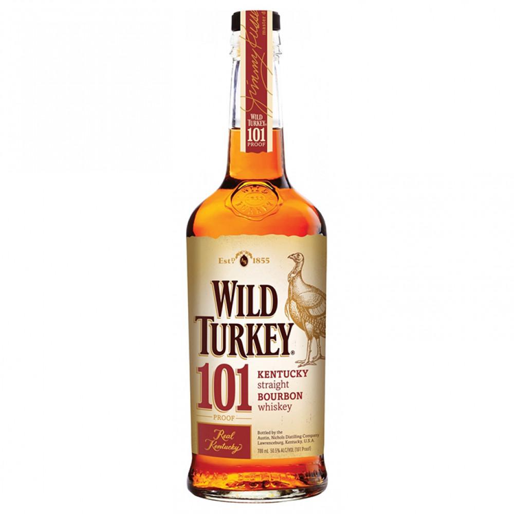 Виски Бурбон Уайлд Тёки 101 0.700