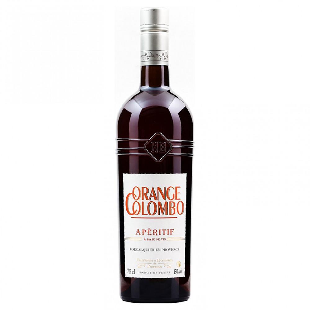 Аперитив Оранж Коломбо апельсиновый 0.750