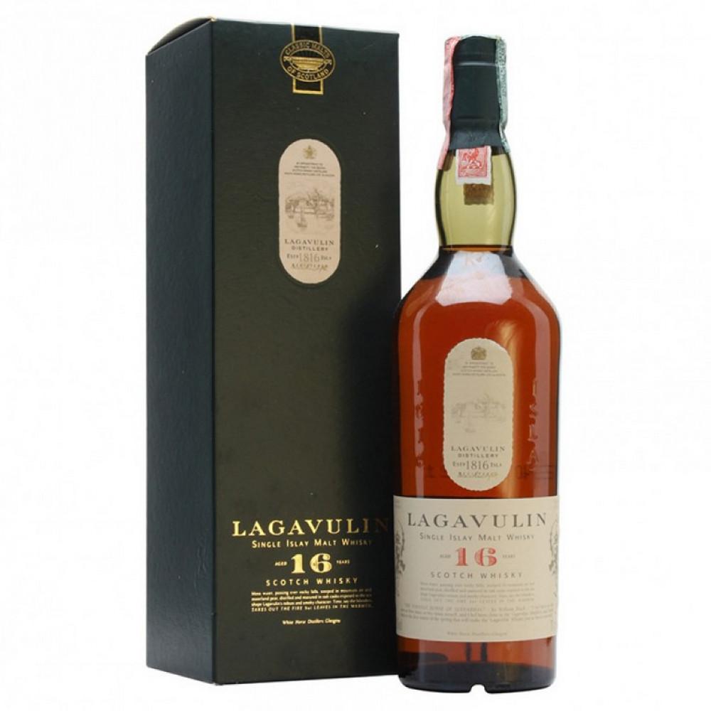 Виски Лагавулин 16 лет (п/к)  0.750