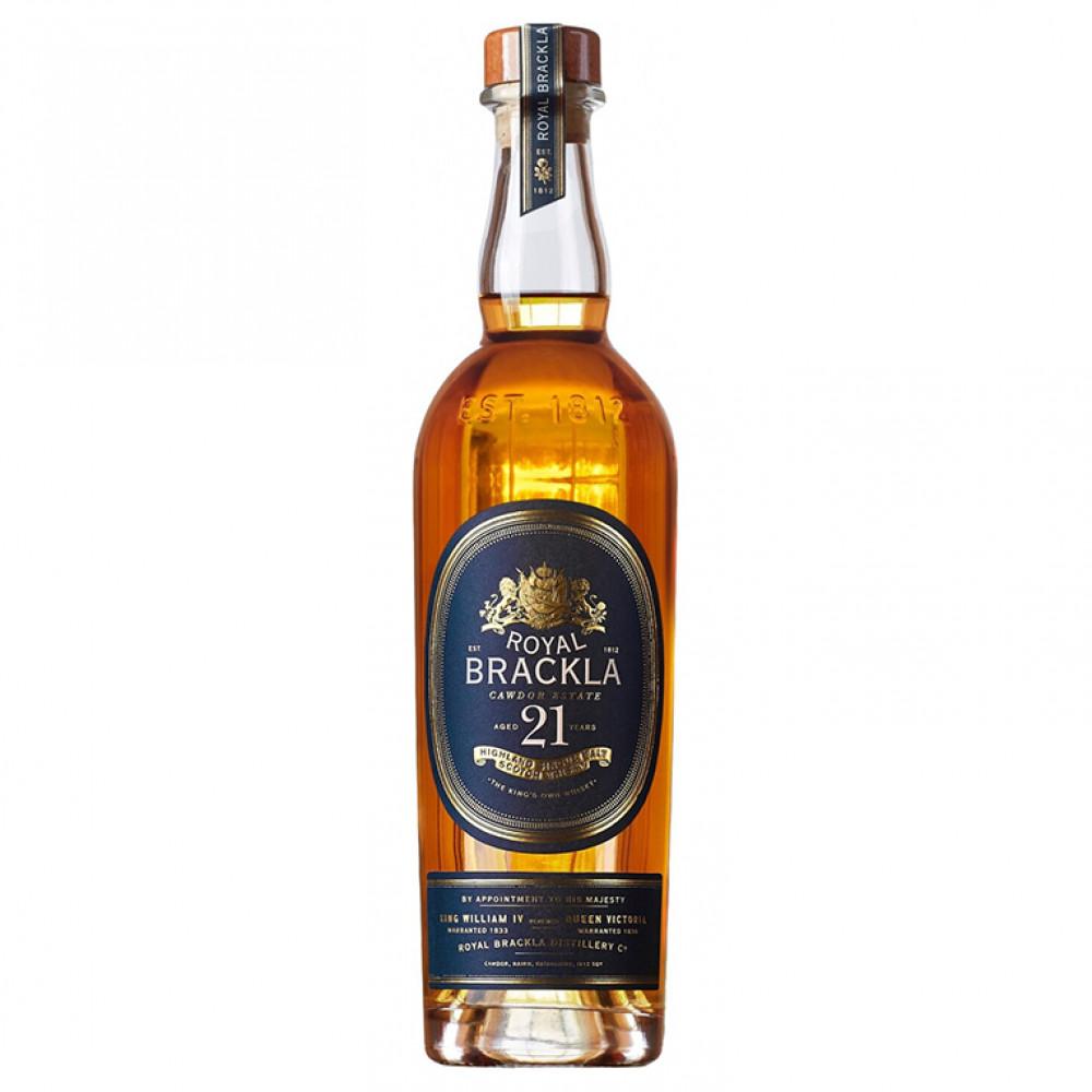 Виски Ройал Бракла 21 (п/к)  0.700