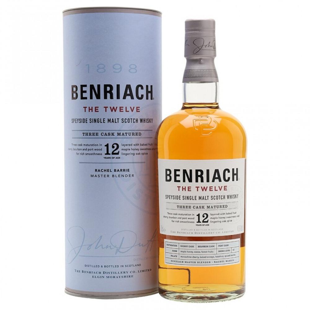 Виски Бенриах Твэлв 12 лет  (п/к)  0.700