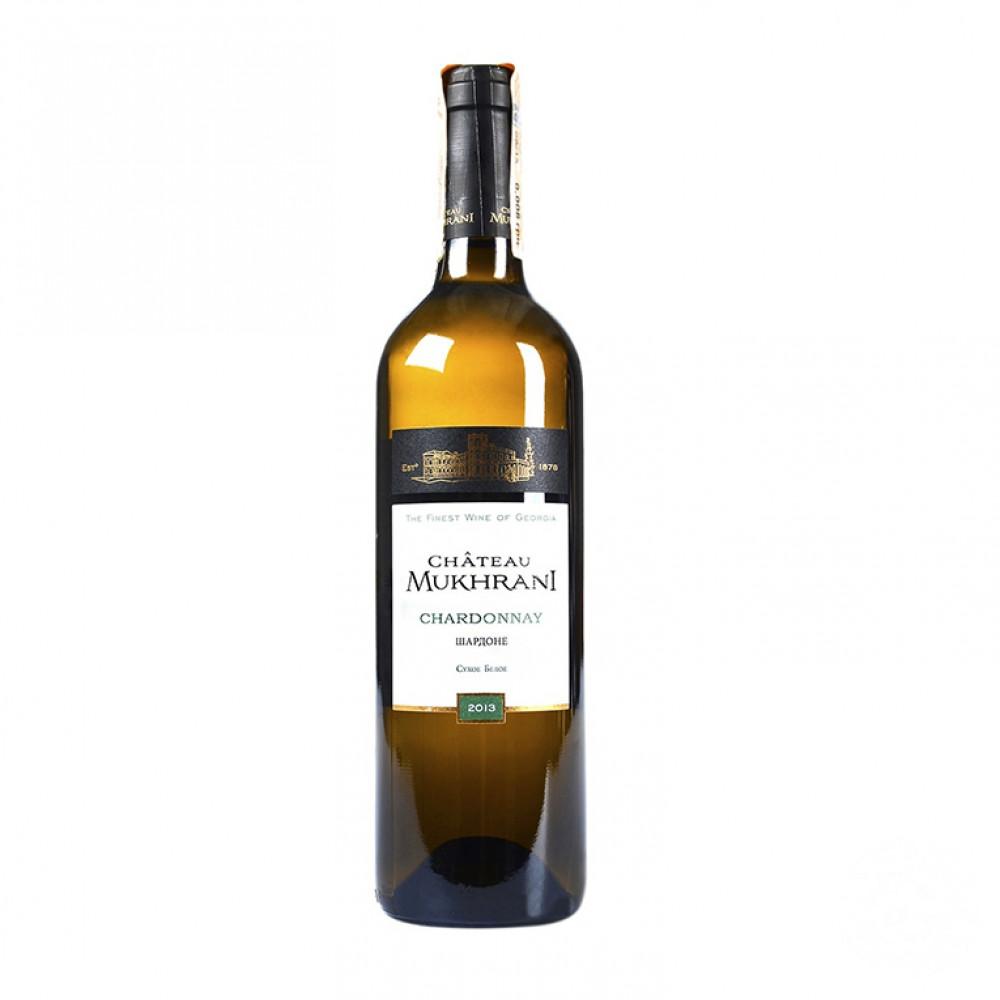 Вино Шардоне бел сух 0.750