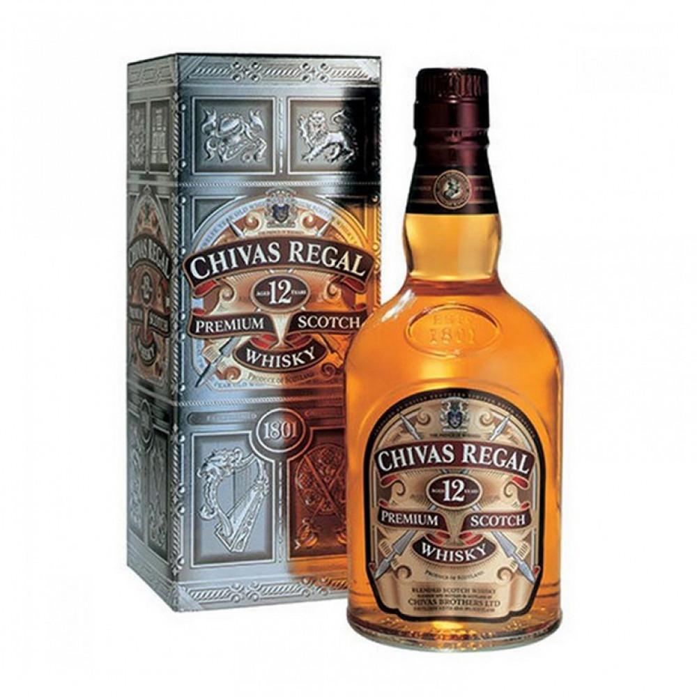 Виски Чивас Ригал 12 лет п/у 0.500