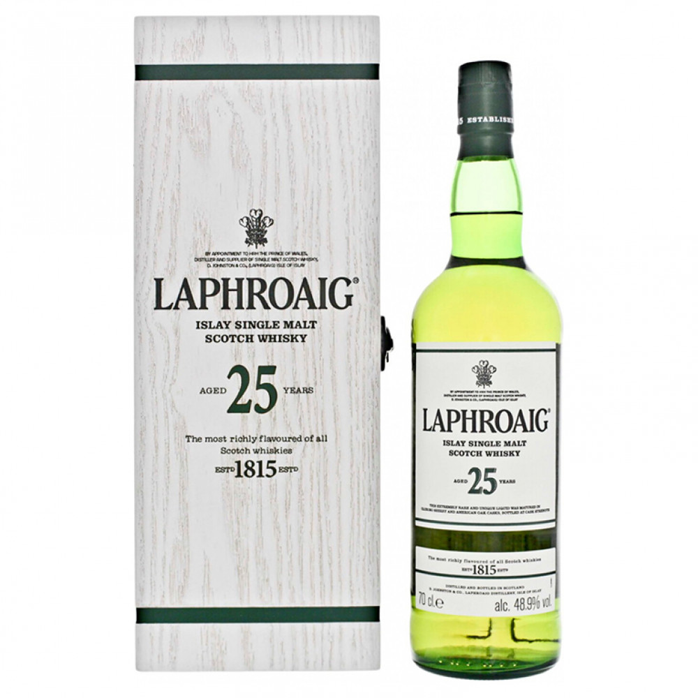 Виски Лафройг 25 лет (п/к)  0.700
